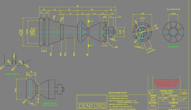 Denford Software Amp Machines View Topic Chess Piece